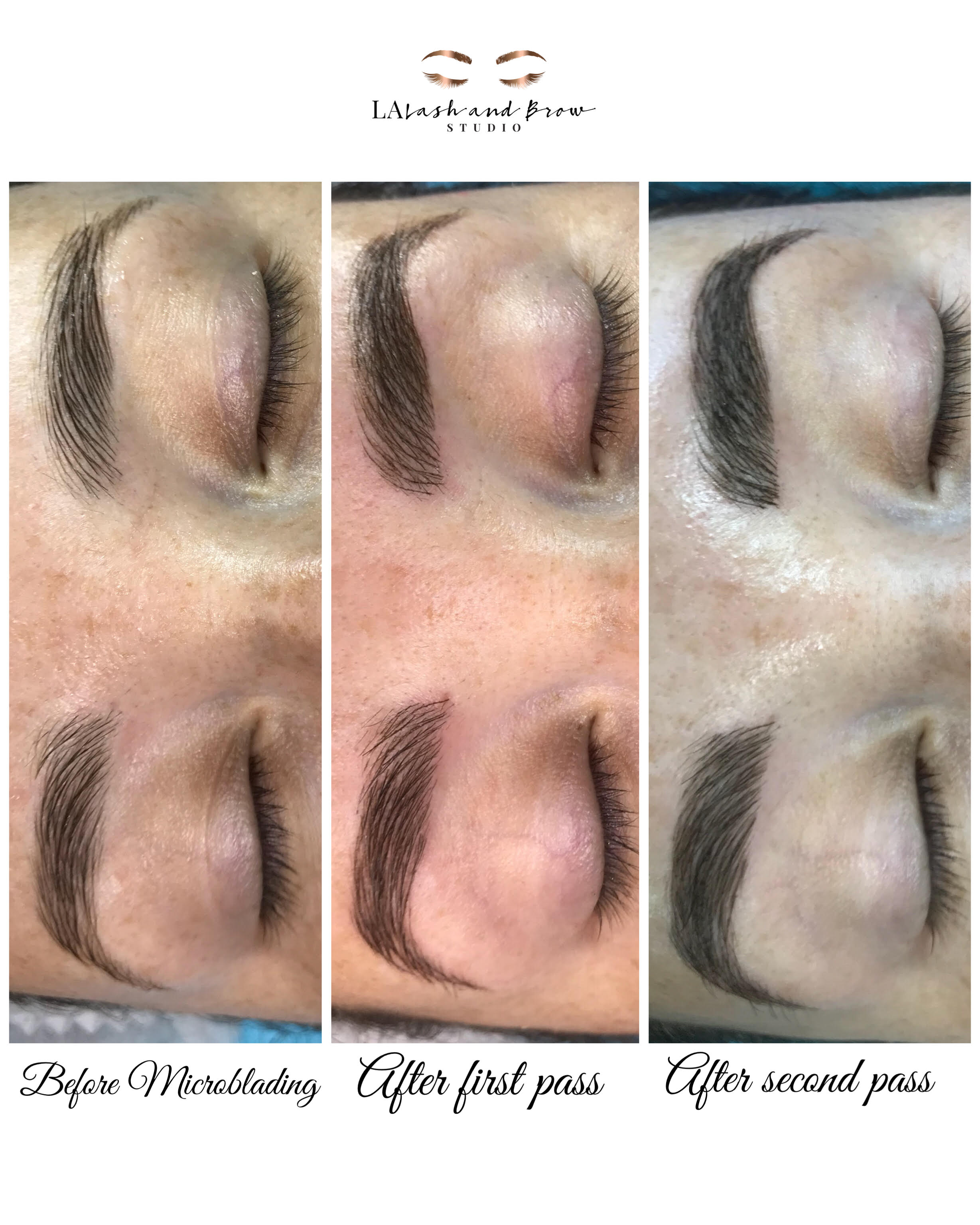 Microblading | LA Lash and Brow Studio | Book today 727-808