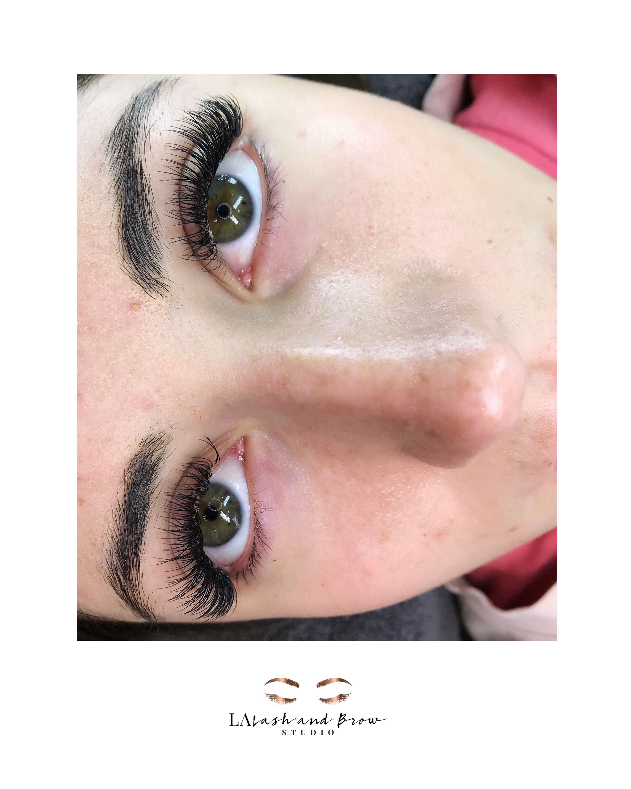 Eyelash Extensions La Lash And Brow Studio Book Today 727 808